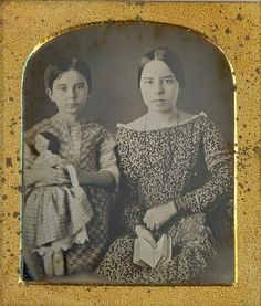 Reading to Dolly Daguerreotype by Mirror Image Gallery, via Flickr
