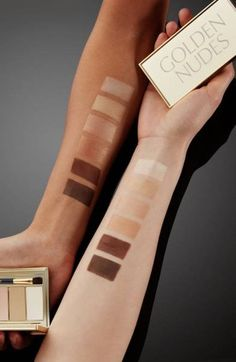 These gorgeous hues brighten, sculpt and define your eyes, delivering a golden nude look