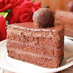 Торт Бельгийский шоколад - фото
