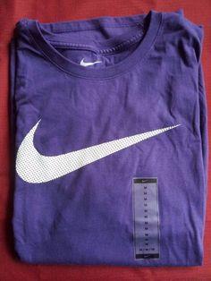 best loved 560f8 47fda Authentic NIKE Mens Legend Swoosh Tee T-Shirt Purple 823557-566 Size Medium   Nike  GraphicTee