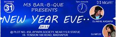 Venue: Hyderabad - Plot - 456, Ayyappa Society, Near Y.S.R.Statue HI-Tension 100 Road, Madhapur Date: 31st December, 2014  The best party in Hyderabad.. With best price.. With mind-blowing line-up with limit crowd and unlimited everything.. Why late guys! Grab ur passes soon.. Limited passes available! B der for sure..! Buy tickets for New Year EVE 2K15 on KyaZoonga!  http://www.kyazoonga.com/Events/New_Year_EVE_2K15/1090/1#.VI7Ytmef6u4