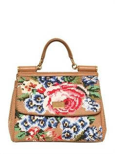 8c6e363bb85 Miss Sicily Crochet Tops, Sicily, Camel, Dolce   Gabbana, Designer Handbags,