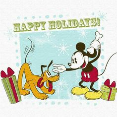MM Disney Christmas, Christmas Images, Christmas Time, Disney Duos, Mini Mouse, Disney Magic, Fun Things, Happy Holidays, Mickey Mouse