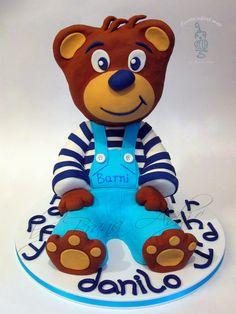 Barni - by carobniuzitakcakes @ CakesDecor.com - cake decorating website