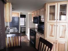 Lake Fork cabins with fully equipped kitchens at Pope's Landing Marina! www.Popeslanding.com