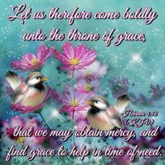 Hebrews 4:16 KJV