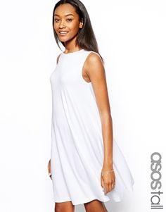 ASOS TALL Sleeveless Swing Dress. Finally dresses that aren't shirts on me.