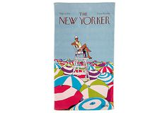 The New Yorker beach towel, for making a statement at the beach.