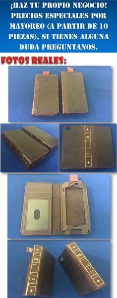 Funda Book Tipo Libro Retro Iphone Se 4s 5 5s 5c + Regalo - $ 199.00