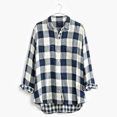 holiday gift pick: madewell oversized boyshirt. #giftwell