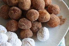 Fried doughnuts...I've always wanted to make doughnuts, but I don't care what kind!
