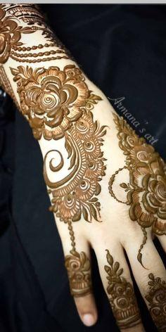 Cute Henna Designs, Arabic Henna Designs, Modern Mehndi Designs, Bridal Henna Designs, Mehndi Designs For Fingers, Khafif Mehndi Design, Mehndi Design Pictures, Beautiful Mehndi Design, Heena Design