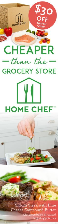 Get $30 off your first order when you try Home Chef today! Receive fresh, pre-portioned ingredients straight to your kitchen, with recipes curated from world-class chefs. From hearty meat and seafood options to gluten-free and low-carb dishes, there's a dinner option that's bound to work for you. Get started with Home Chef today.