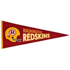 Washington Redskins Throwback Pennant