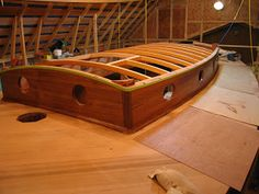 Building a 34 ft Lyle Hess Falmouth Cutter: March 2009