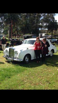 Vintage Wedding Limo Bentley by Bellagio Limousines
