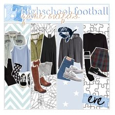 """Back to School: Highschool Football Game Outfits"" by the-amazing-tip-chickas on Polyvore"