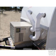 ClimateRight Portable Tent and Small RV Air Conditioner/Heater Combo! Would be great for tiny homes too!