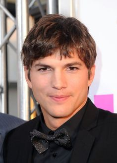 ashton kutcher august 2014, hair - Google Search