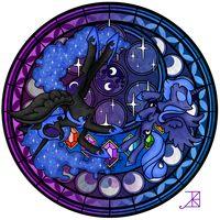 Nightmare moon and princess luna