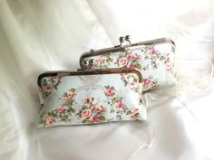 THE SHABBY chic Bridesmaid clutch with by franklymydearvintage
