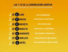 ⚜️ Arte de la comunicación... Las 7 Cs de la Comunicación Asertiva