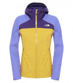 The North Face® Women's Stratos Jacket is a waterproof, breathable HyVent® mountain jacket for alpine action in poor weather.