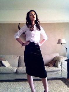 Club up skirt
