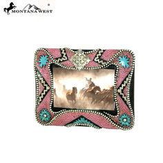 Pink Resin Texture Photo Frame