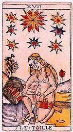 La Estrella (Tarot) - Wikipedia, la enciclopedia libre