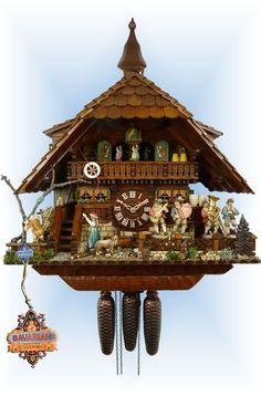 Schwer Gutshof Estate cuckoo clock 23'' - Bavarian Clockworks