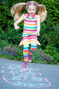 Jumping rope! Its fun for the kids and great exercise for ...