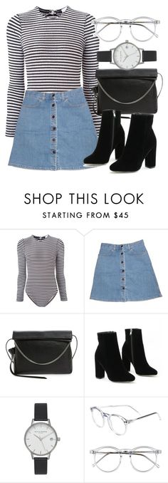 """""""Untitled #6186"""" by laurenmboot ❤ liked on Polyvore featuring Fleur du Mal, STELLA McCARTNEY, AllSaints, Olivia Burton and Wildfox"""