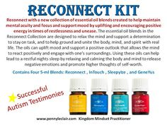 Reconnect Kit from Young Living. For more info and to order Www.Theoildropper.Com