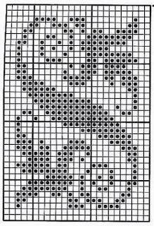 Larger border, vertical or horizontal. Filet Crochet Charts, Crochet Borders, Crochet Squares, Tapestry Crochet, Knit Or Crochet, Crochet Doilies, Crochet Motif, Crochet Stitches, Crochet Patterns