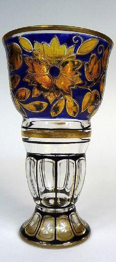 .Jugendstil Vase Pautsch Haida um 1900