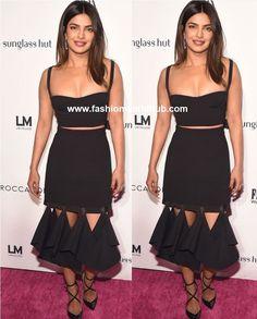 Priyanka Chopra in Dion Lee   Fashionworldhub