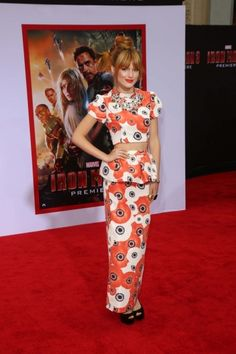 """Bella Thorne at the """"Iron Man 3"""" Los Angeles Premiere, El Capitan, Hollywood #fashion #style #celebrity #dress #looks #redcarpet"""