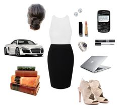 """""""Anastasia Grey - Grey Publishing Outfit"""" by ohmyfifty on Polyvore featuring Jacques Vert, Aquazzura, OMEGA, Spyder, Kobelli, Chanel and Christian Dior"""