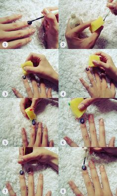 Another Girl Another Planet   Paloma Martins: Tutorial: Galaxy nail art