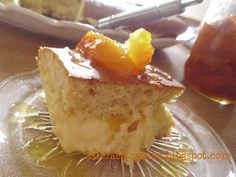 Asterati Kouzina: Κέικ πορτοκάλι με γέμιση κρέμα πορτοκαλιού ..... Cornbread, French Toast, Cheesecake, Baking, Breakfast, Ethnic Recipes, Desserts, Food, Millet Bread