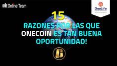 Estimado lector! Te detallo en este post las 15 mejores razones por las que OneCoin es una inmejorable oportunidad financiera para cualquier tipo de persona, independientemente de sus conocimientos en finanzas o situación económica actual.