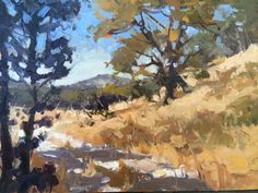 Mt. St. Helena, 12x16, oil on linen, available