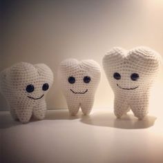 Dentinho amigurumi passo a passo – Bonek de Crochê | 236x236