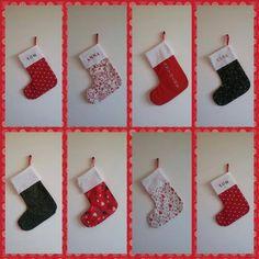 Chaussettes de Noël personnalisées grand format