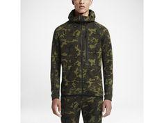 Nike Tech Fleece Camo Full-Zip – Sweat à capuche entièrement zippé pour Homme