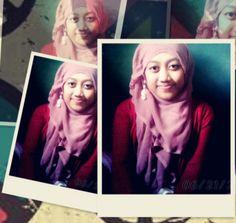 hijab pink :)