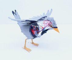PAPER BIRD – LES ANIMAUX EN PAPIER DE DIANA BELTRAN HERRERA