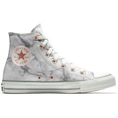 Converse Custom Chuck Taylor All Star Marble High Top Shoe (52.815 CLP) ❤ liked on Polyvore featuring shoes, high top shoes, converse shoes, star shoes, converse high tops and hi tops