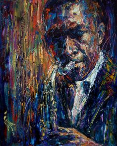 themaninthegreenshirt:  John Coltrane by Natasha Mylius